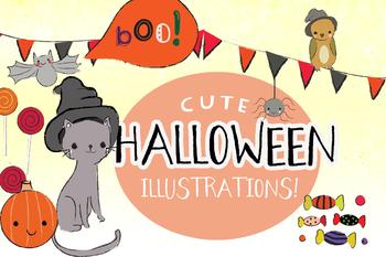 Halloween Clipart Illustration's