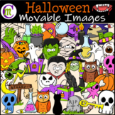 Halloween Clipart  || MOVABLE IMAGES CLIPART
