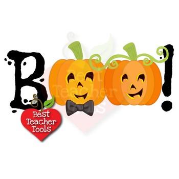 Halloween Clipart, Pumpkin Clip Art, Boy Halloween Pumpkins Clip Art, AMB-2466