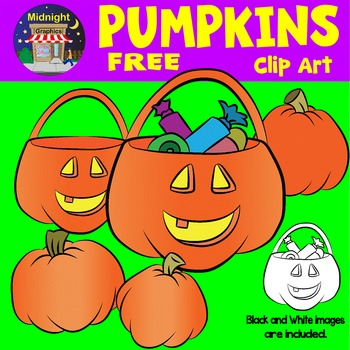 Halloween Clipart - Pumpkins and Jack-O-Lanterns
