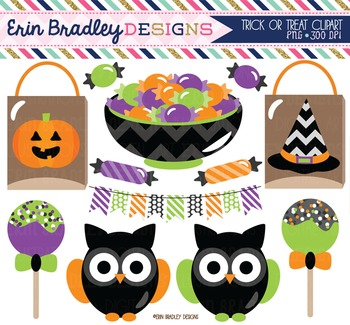 Halloween Clipart - Trick or Treat