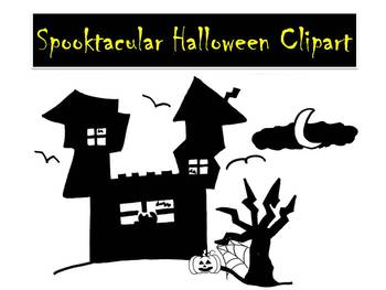 Halloween Clipart by Learning 4 Keeps Design!