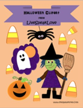 Halloween Clipart- for Commercial and Personal Use