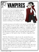 *BTSBONUS* Halloween Close Reading & Writing Theme Unit
