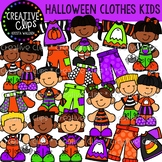 Halloween Clothes Kids {Creative Clips Clipart}