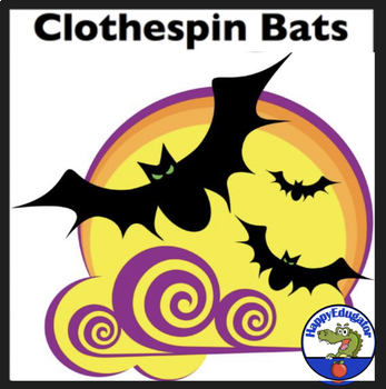 Halloween - Bats Craftivity and Bat Activities