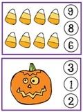 Halloween Clothespin Counting Game