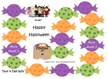 Halloween Clues for Vocabulary and Inferences