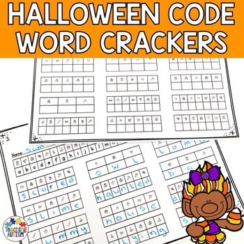 Halloween Activities - Code Word Cracker