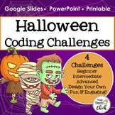 Halloween Coding Challenges for Google Sheets, PowerPoint, and Unplugged