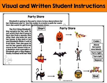 Halloween Coding Unplugged