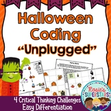 Halloween Coding Unplugged