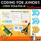 Halloween Coding for Juniors – Using Scratch Jr, teacher notes, answer key