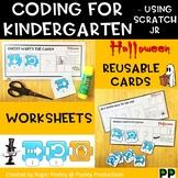 Halloween Coding for Kindergarten, teacher notes
