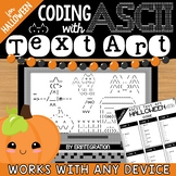 Halloween Coding with ASCII Text Art for Any Device