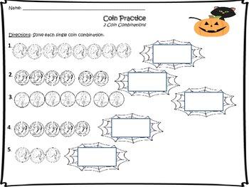 Halloween Coin Practice