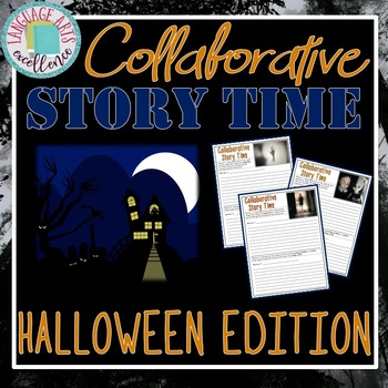 Halloween Collaborative Writing Activity