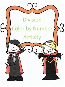 Halloween Division Color by Numbers
