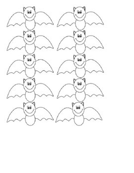 Halloween Color Activity and Pocket Chart