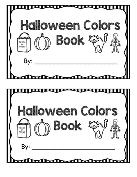 Halloween Color Book