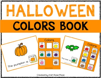 Halloween Color Books (Adapted Books)