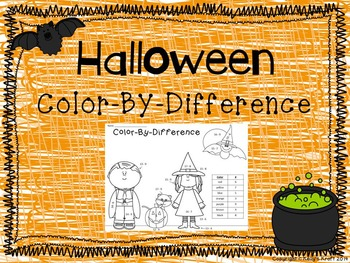 Halloween Color-By-Difference