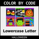 Halloween: Color By Letter (Lowercase)