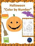 """Halloween """"Color By Number"""""""