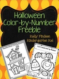 Halloween Color-By-Number FREEBIE