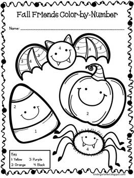 image about Color by Numbers Halloween Printable titled Halloween Shade-Via-Selection FREEBIE