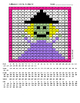 Halloween Color By Number Fun Pack - 5 Different Color By Number Activities