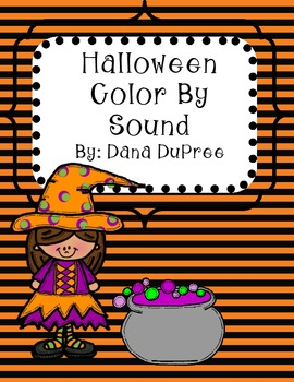 Halloween Color By Sound