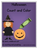 Halloween Color, Count and Graph