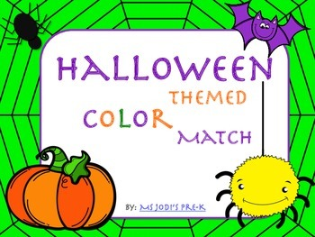 Halloween Color Match