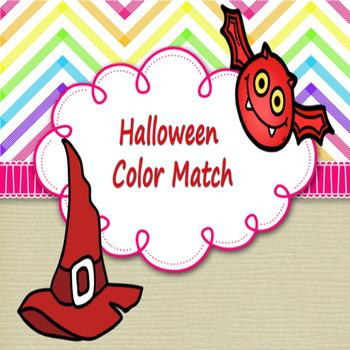 Halloween Color Match