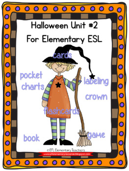 Halloween Resources for Elementary ELL
