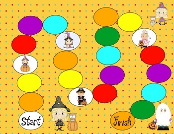 Halloween Color Matching Game