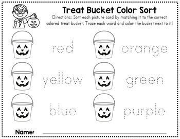 Halloween Color Sort