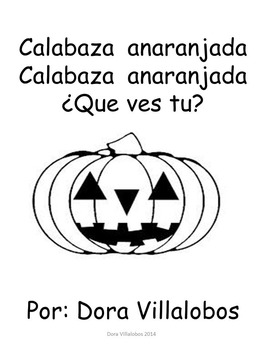 Halloween Color Words Big Book