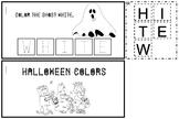Halloween Color Words Book