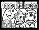 Halloween Color by Basic Addition (Printables)