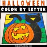 Halloween Color by Letter | Alphabet Coloring Pages