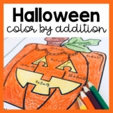 Halloween Color by Number: Addition (to 5, 10, 20 & 100)!