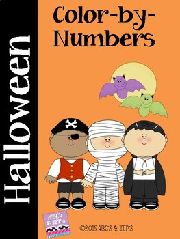 Halloween Color-by-Numbers