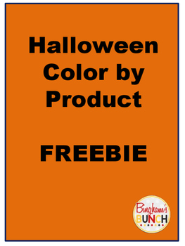 Halloween Color by Product