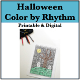 Halloween Color by Rhythm
