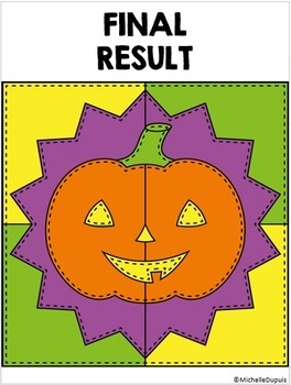 Halloween - Color by number