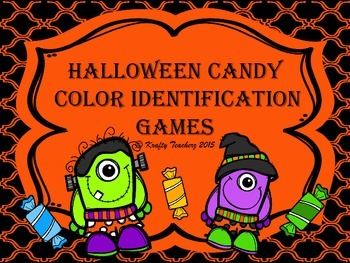 Halloween Color Identification Games