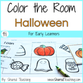 Halloween Color the Room