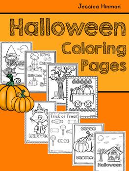 Halloween Coloring